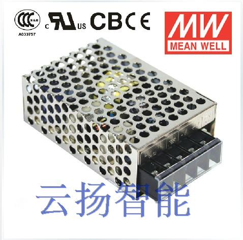 CCC Meanwell 15W 24V0.7A Single Output Switching Power Supply NES-15-24 meanwell 12v 350w ul certificated nes series switching power supply 85 264v ac to 12v dc