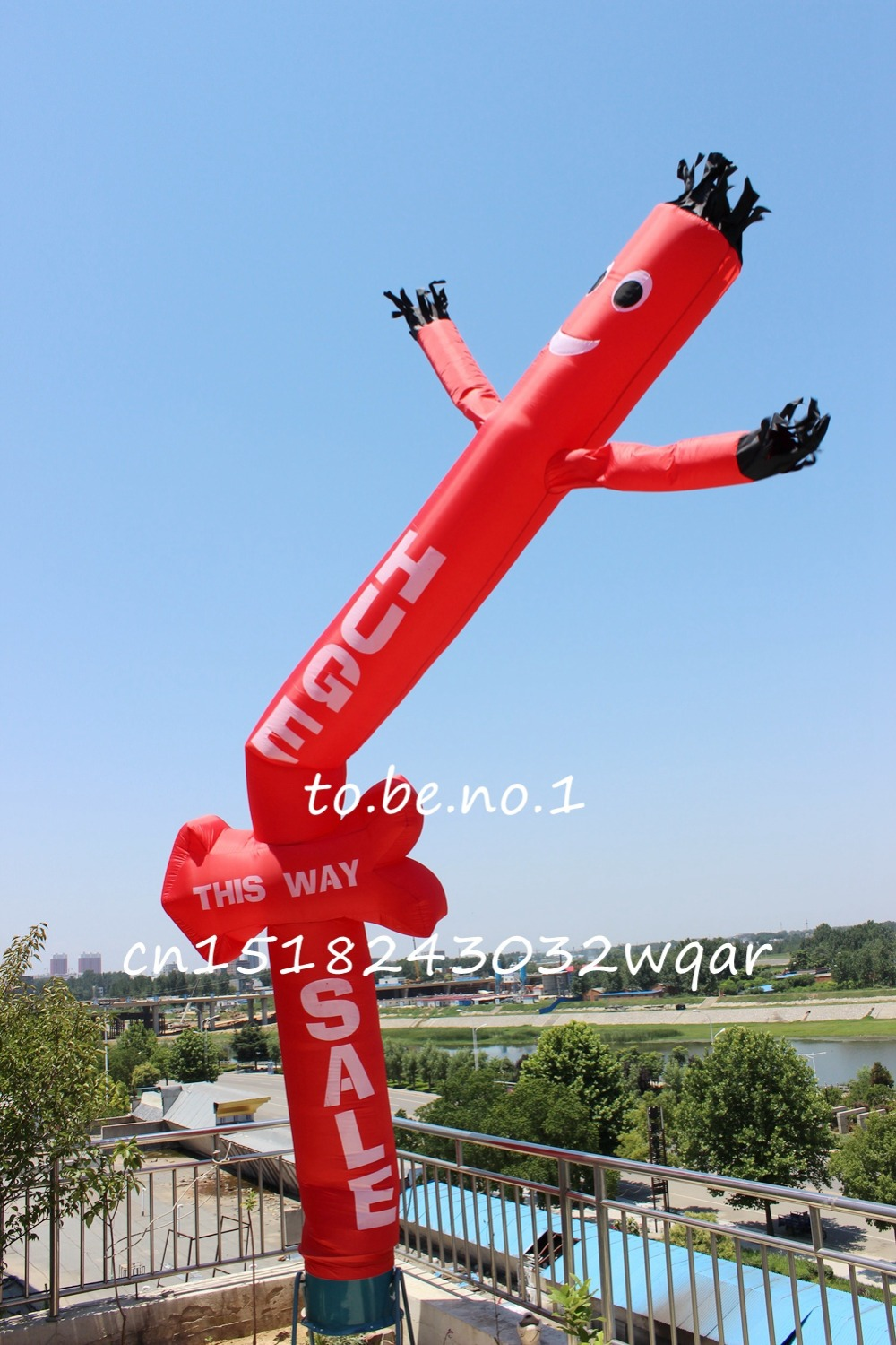 Inflatable Toys 6M 20FT Inflatable Tube Sky Dancer Air Dancer NO blower A1001 ad41 dhl free shipping 10ft 3m dancing inflatable advertising man mini sky dancer inflatable air dancer costume for advertising
