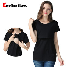 Emotion Moms pregnancy Maternity clothes Maternity Top Nursing top nursing clothing Breastfeeding T-shirt for pregnant women Top(Hong Kong,China)
