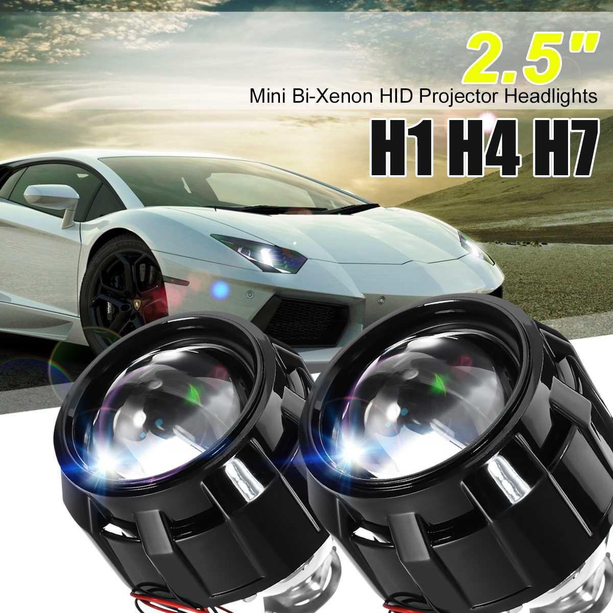Fits Honda Jazz MK2 55w Super White Xenon HID High//Low//Side Headlight Bulbs Set