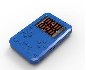 Image 4 - Mini FC nostaljik çocuk oyun makinesi Tetris oyun makinesi dahili 300 elde kullanılır oyun konsolu PSP el