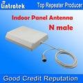 Venda por atacado! 700-2700 MHz N Conector Macho Antena Interior Painel com 2 metros de Cabo, 8dbi Antena Interna para Telefones Celulares Boosters