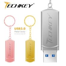 Usb 3,0 usb флэш-накопитель 64 ГБ флеш-накопитель 3,0 водонепроницаемый металлический Флешка флеш-накопитель Флешка U диск карта памяти подарок