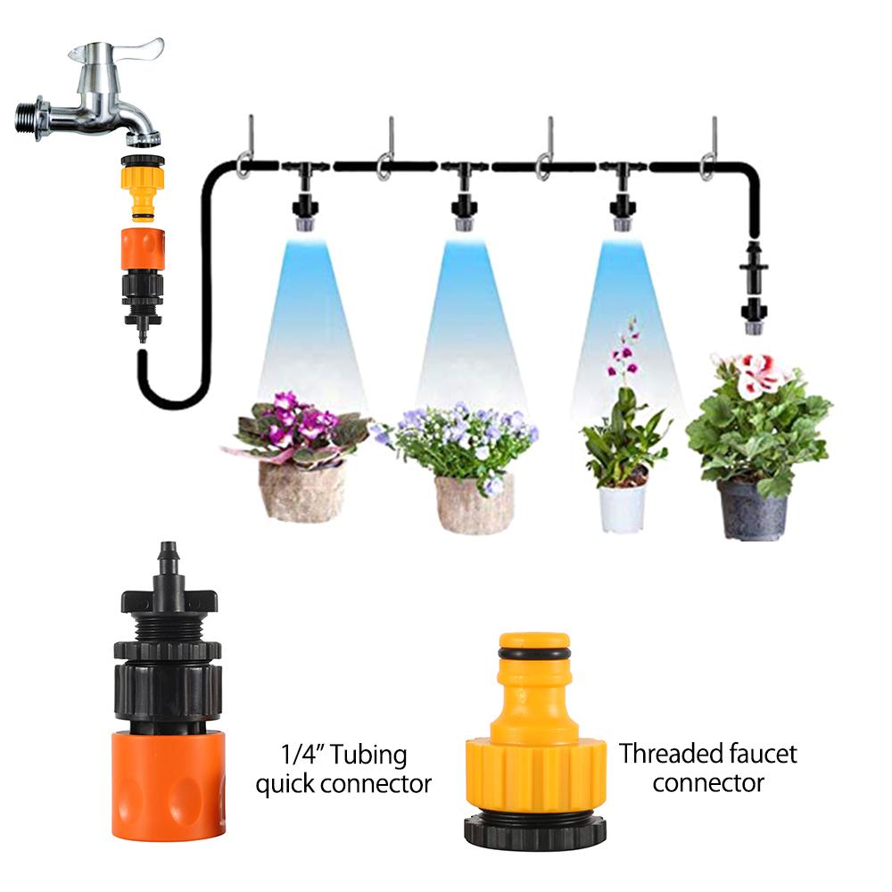 HTB1.svxThTpK1RjSZFMq6zG VXaM - Water Misting Cooling System Kit summer Sprinkler brass Nozzle Outdoor Garden