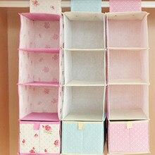 4 Layers Closet Storage Bag Clothes Hanging Type Housing Bag Bedroom Wall Door Clothing Hanging Organiser Storage Box