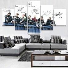 Bangtan7 Wall Canvas (5 Pcs)