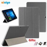 HiBook Pro 케이스 PU 가죽 케이스 CHUWI Hi10 Air HiBook Pro/HiBook/Hi10 Pro 태블릿 PC + 무료 3 선물
