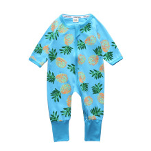 Children's clothing Pyjamas Newborn Infant Baby Rompers Long Sleeve Overalls Boys Girls Spring Autumn Clothes 2017 newborn baby girls princess clothes infant spring autumn lace cotton rompers hats clothing sets jumpsuit overalls outerwear