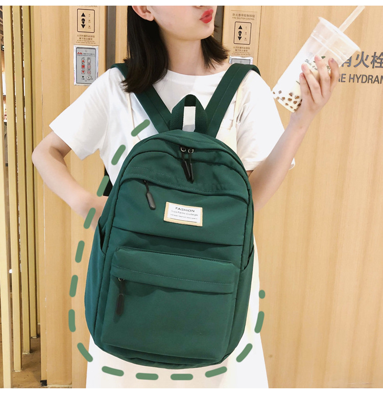 HTB1.sw cRGw3KVjSZFwq6zQ2FXaG 2019 New Backpack Women Backpack Fashion Women Shoulder nylon bag school bagpack for teenage girls mochila mujer