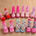Baby Socks With Rubber Soles Anti Slip Toddler Shoes Socks  Newborn Children  Cotton Baby Socks 2016 Ws501