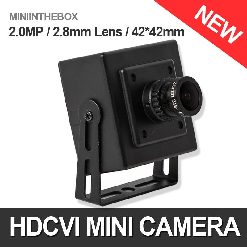 bilder für 1080 P Cctv HDCVI Kamera CMOS 2MP 2000TVL Mini 720 P HD CVI Kamera 3,6mm Objektiv Überwachungskameras Innenbereich 42*42mm