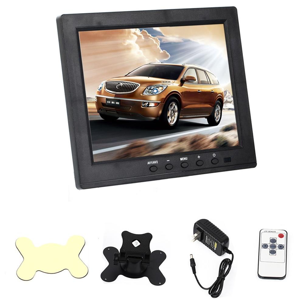 """imágenes para 8 """"TFT LCD Car Dashboard Monitor de ALTA DEFINICIÓN, BNC VGA HDMI AV-en Monitores de Pantalla Puerto de Carga USB para PC de Seguridad Para el Hogar 1024*768"""