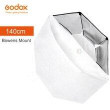 "Godox 140cm 55"" Octagon Softbox Flash Speedlite Studio Photo Light Soft Box with Bowens mount for DE300 DE400 SK300 SK400 DP600"