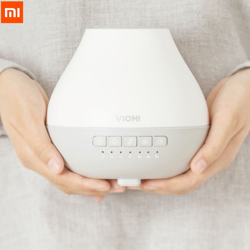 Xiaomi VIOMI Aromatherapy Diffuser Ultrasonic Humidifier MUSIC EDITION Bluetooth Romantic led Music Speakers Best Gift