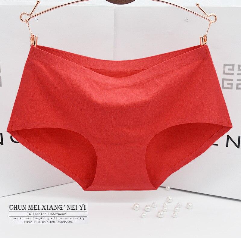d41842cd3b99 El nuevo proceso intimates bragas de algodón de mujer ropa interior sin  costuras MS en la cintura sexy bragas de algodón Natural en Bragas de las  mujeres de ...
