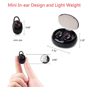 Image 3 - TWS Wireless Bluetooth 5.0 Earphones IPX5 Waterproof In Ear Sports Earbuds for smartphones Mic Stereo bluetooth headsets xiomi