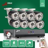 ANRAN Plug Paly 8CH HDMI 1080N AHD DVR 720P 36 IR Outdoor Waterproof CCTV Home Surveillance