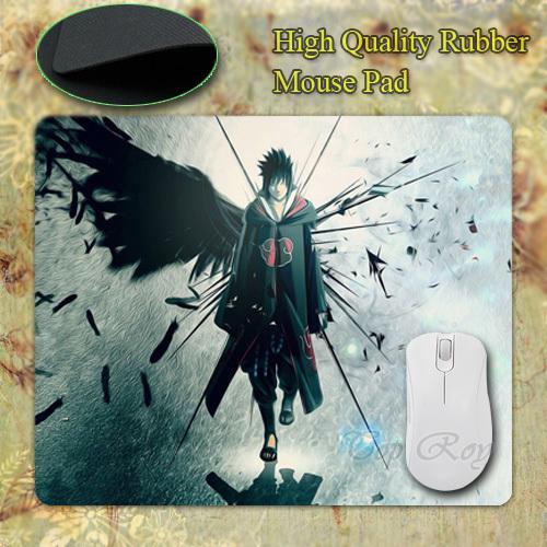 Sasuke Uchiha Anti-Slip Rubber Mouse