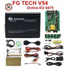 Nova chegada da ue 0475/0386 fgtech v54 galletto 4 completo chip suporte bdm completa função fg tech v54 auto ecu chip tuning