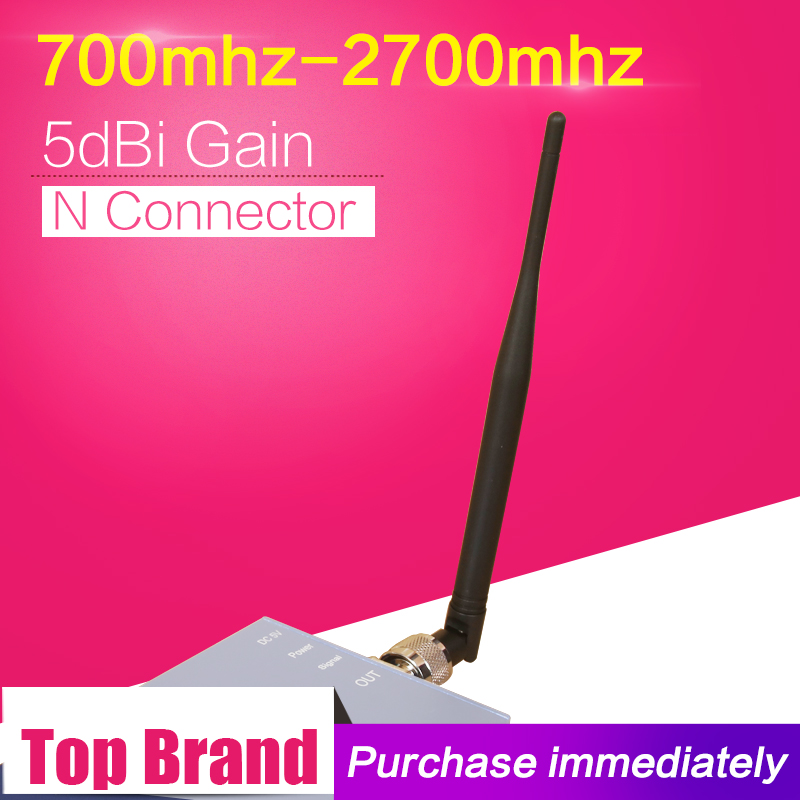 5dBi 700-2700mhz <font><b>GSM</b></font> <font><b>3G</b></font> <font><b>4G</b></font> <font><b>LTE</b></font> Mobile Phone Signal Antenna N Type Connector Omnidirectional Internal Antenna For Signal Booster image