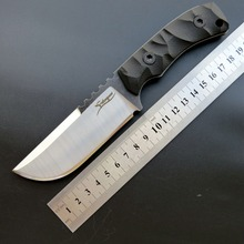 Eafengrow EF100 Fixed Blade Knife 440C Blade + G10Handle Outdoor Tactical Survival Knife Camping Hunting Knife EDC Tool Knife classic hunting knife blade kit damascus blade blanks diy fixed blade 57hrc camping knife blade