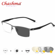 Transition Sunglasses Titanium Photochromic Reading glasses Men Hyperopia Presbyopia with diopters Outdoor Glasses