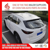 Высококачественный алюминиевый сплав винт установить боковой направляющей Бар Багажник На Крышу для Mazda mazda CX 5 cx5 2017 2018 17 18 продаж ЧЕМПИОН