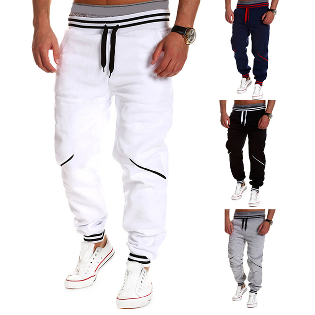 Mens Jogger Pant Cargo Outdoors Trouser Fashion Biker Joggers Skinny Sweatpants Harem Pants Hip Hop 2016 New Pantalones Hombre
