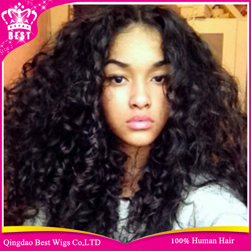 Hot Human Lace Front Wig For Black Women b414b3a45f5e