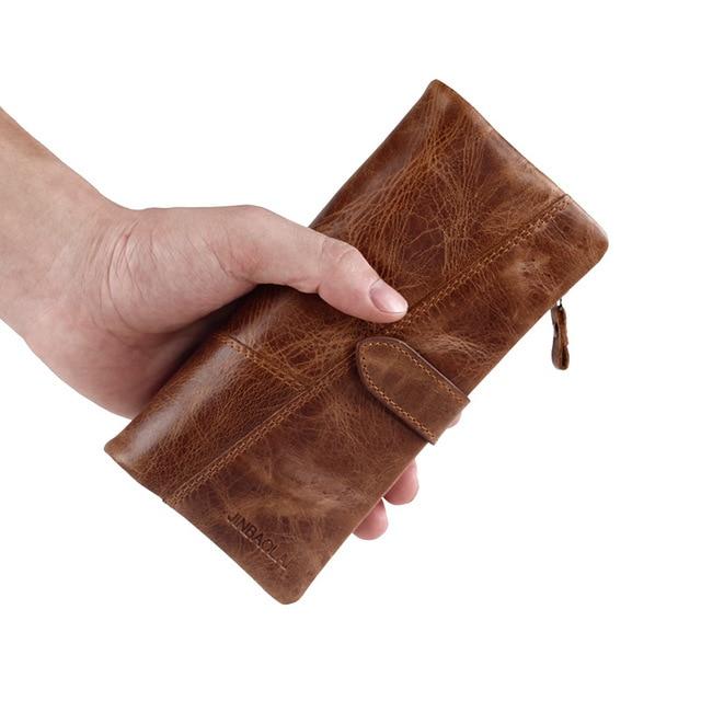 Handy mens wallet vintage cow leather men portfolio male klatch zip handy mens wallet vintage cow leather men portfolio male klatch zip cell phone purses 18 business colourmoves