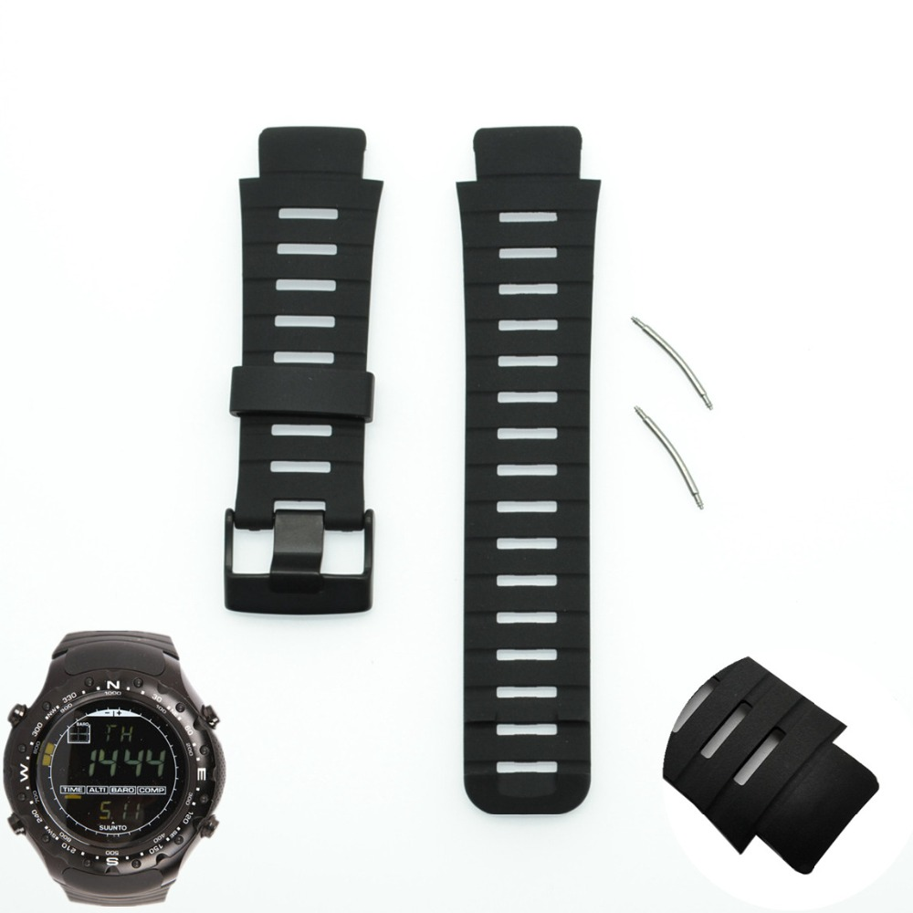For Suunto X Lander Silicone Rubber Watch Band