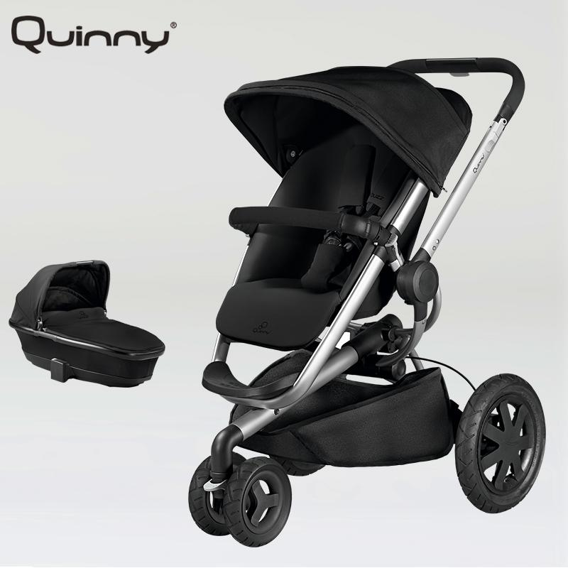 Quinny Buzz Xtra 2 in 1 Baby Stroller High Landscape Folding Three Wheeled Shock Absorber Baby Stroller Bidirectional push carts russian baby stroller is the latest luxury three wheeled baby stroller 2017