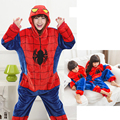 Kigurumi Unicorn Pajamas sets Flannel Hoodie Pajamas Animal Spiderman Pajamas Adult Children Women Men Onesies Sleepwear Winter