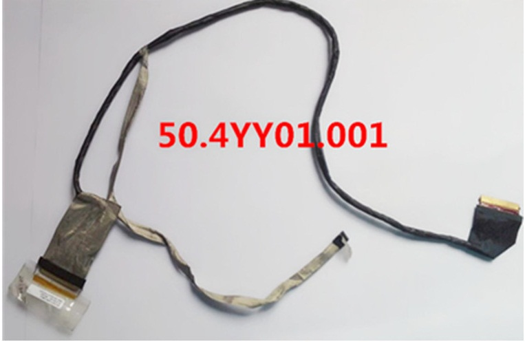 WZSM New LCD Display Screen Video Cable For HP ProBook 470 G1 470 G0 Cable S17  50.4YY01.001 723646-001 wzsm new lcd flex video cable for hp