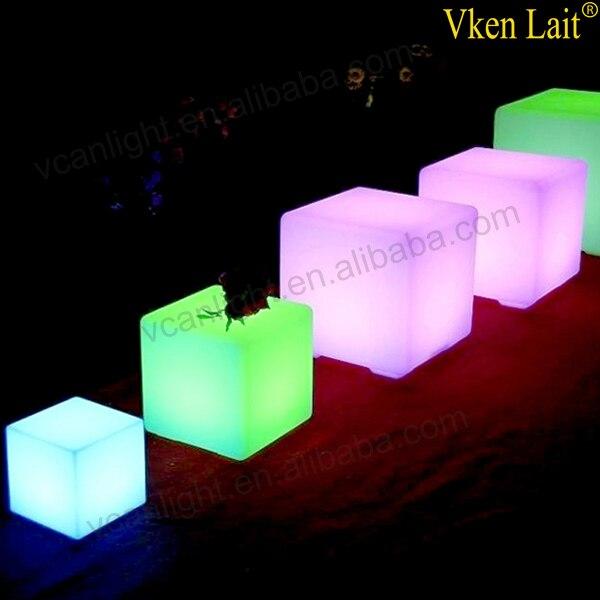 8 PCS/lot 20*20*20 cm Couleur Changeante lumière LED waterproof Cube VC-G2020 - 2