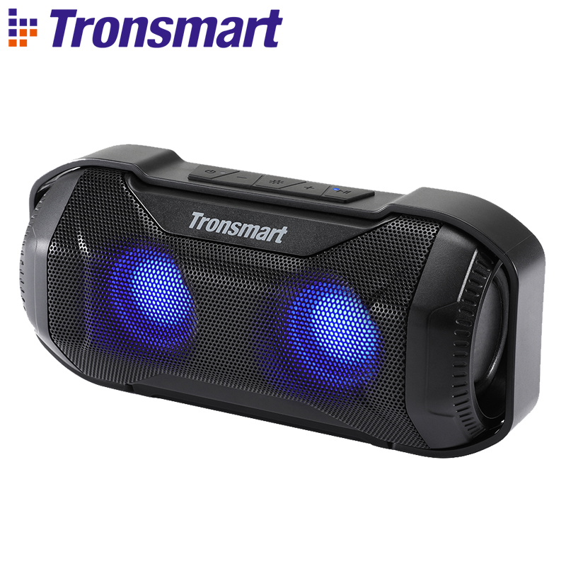 Tronsmart Blaze Bluetooth Speaker 10W IPX56 Waterproof Portable Speaker with Superior Bass LED Lights for bicycle