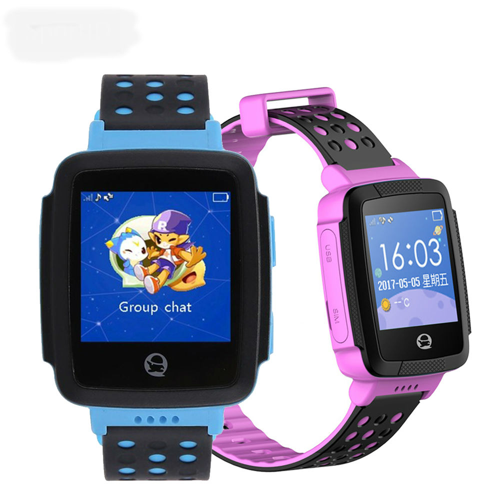 Smart Watch Children GPS Smartwatch Kids Sport Wristband Wristwatch Anti Lost Tracker Support SIM Safe Monitor for Android IOS new smart watch children safe monitor gps sports track waterproof android q402 wristwatch kid baby camera support sim 4g network