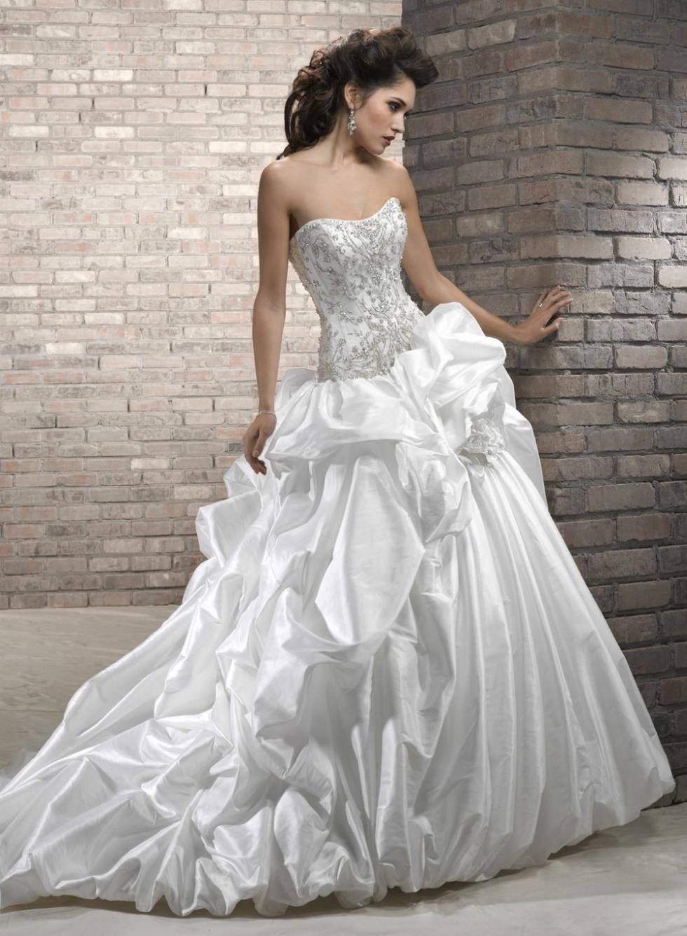 gorgeous ball gown handmade wedding dress with illusion sleeves handmade wedding dresses g 2 g 1