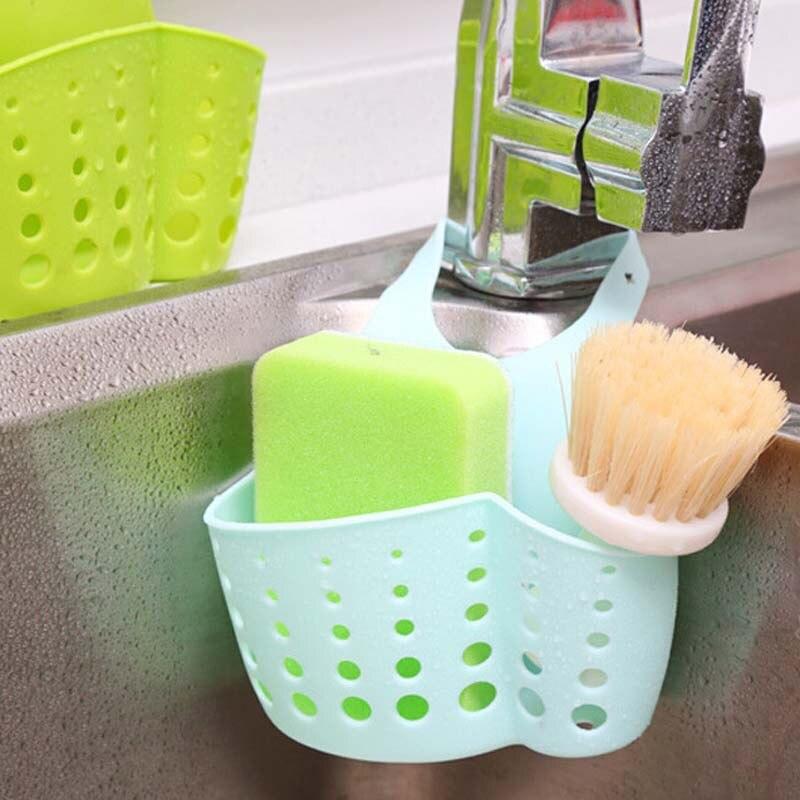 Kitchen Sink Accessories Basket kitchen sink accessories sponge drainer. durable hanging storage