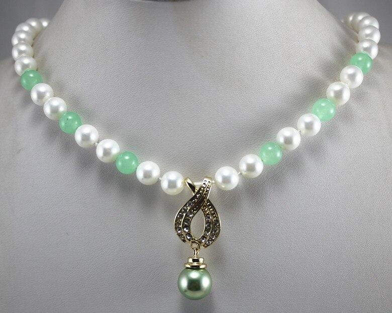 Nuevo llega el diseño más noble 7 , 8 mm perlas de agua dulce blanco mezclado