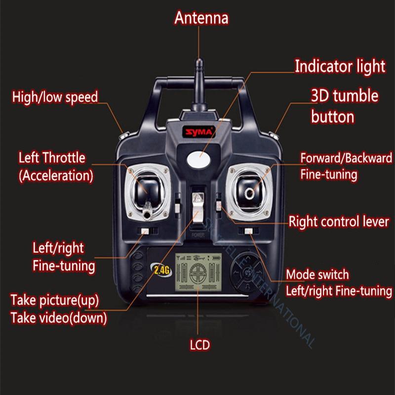 SYMA X5SW FPV Dron 2.4G 6-AxisDRONES Quadcopter Drone Med Kameran - Radiostyrda leksaker - Foto 5