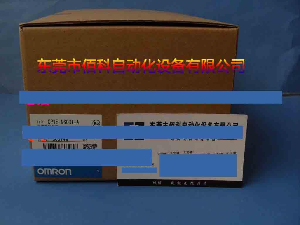 New Original   PLC CP1E-N60DT-A