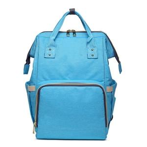 Image 5 - MOONBIFFY, модная сумка для подгузников для мам и мам, Большая вместительная детская сумка, рюкзак для путешествий, дизайнерская сумка для ухода за ребенком