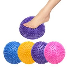 970550d42d Meia Bola de Yoga Aptidão Física Aparelho Pilates Bolas Massagem Ponto de Equilíbrio  Bola Exercício Stepping Stones