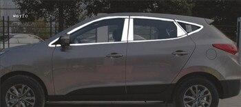 รถจัดแต่งทรงผมหน้าต่างสแตนเลส trim แก้ไขการปรับเปลี่ยน refit ชิ้นส่วนด้านนอกตกแต่งตกแต่งสำหรับ ...