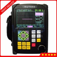 KUT-650 Portable Digital Ultrasonic Flaw Detector UT Flaw Detection with 6dB DAC Functions 0 to 10000mm Scanning Range