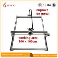 15000mw Mini desktop DIY Laser engraving engraver cutting machine Laser Etcher CNC print image of 100*100cm big working area 15w