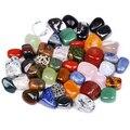 Cuentas de piedra volteadas de 100g y cuentas de piedras preciosas mezcladas a granel piedra de cristal de roca para cristales y piedras preciosas curativas de Chakra