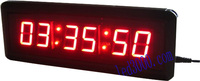 Sports Timers LED Countdown   Clock   Customer   Clock   Game Timer Conference Timer free shipping(HIT6-1.5R)