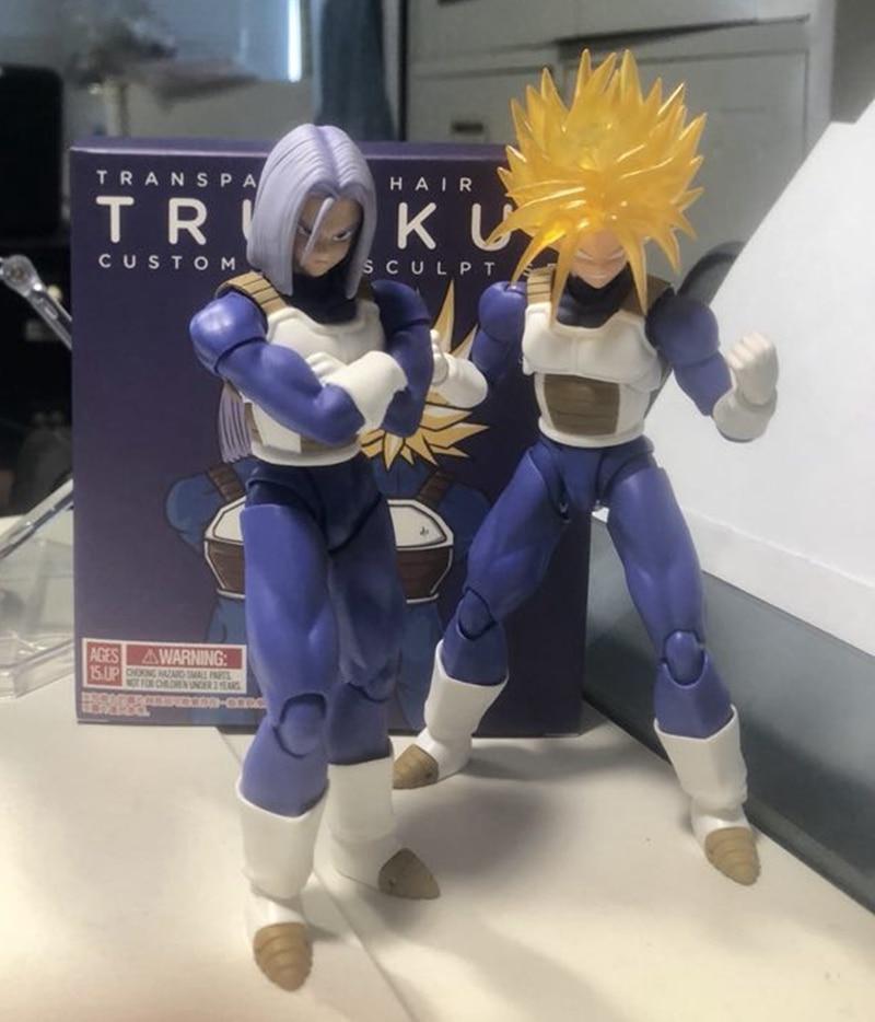 WSTXBD Demoniacal Fit Suit for Dragon Ball Z DBZ shf SSJ Trunks Goku Vegeta Accessories figure Action Figure Toys Figurals цены онлайн